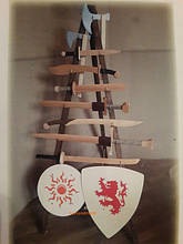 Деревяні вироби ручної роботи народних умільців