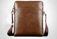 Стильная мужская кожаная сумка. Модель 04179, фото 6