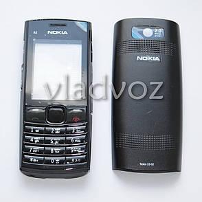 Корпус Nokia X2 02 черный с средней частью с клавиатурой AAA, фото 2