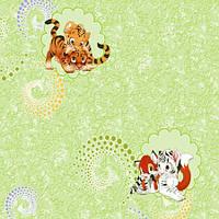 Обои бумажные Тигрята 1180