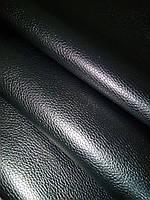 Натуральная кожа КРС Флотар черный глянцевый, фото 1