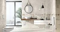 Керамическая плитка для ванных комнат STONE FLOWERS от Opoczno