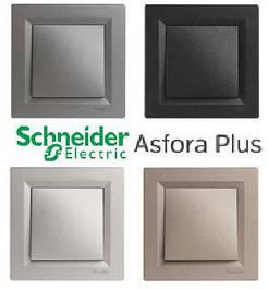 Розетки и выключатели ASFORA PLUS Schneider Electric