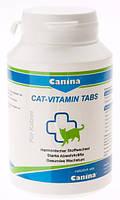 Витамины для кошек Canina Cat-Vitamin Tabs (Канина Сат-Витамин Табс) 100 шт
