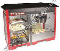 Аппарат для попкорна 8 унций, Китай с витриной для хранения попкорна