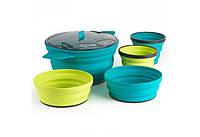 Набор посуды на 5 персон SEA TO SUMMIT XSet31- 2,8L POT 2-Bowl + 2-Mug