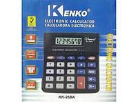 Настольный калькулятор Kenko КK268A бухгалтерский
