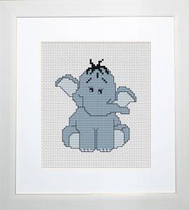 """Набор для вышивания нитками  """"Слоненок"""", фото 2"""