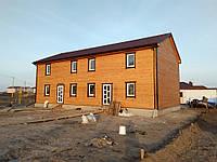 Дуплекс - каркасный дом на две семьи