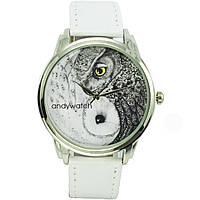 Часы ANDYWATCH наручные мужские Совы Инь-Янь