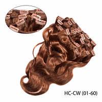 """Высококачественные волосы Remy сплетенные в тресс, стиль: """"Свободная волна"""""""