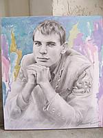 Портрет на заказ ,портрет карандашом ,поп арт
