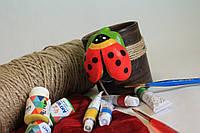 Детские товары для творчества. Украшения для цветочных горшков большие.