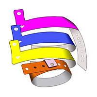 Пластиковые браслеты L типа