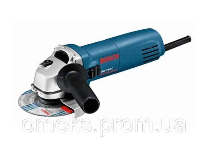 Угловая шлифмашина Bosch GWS 780 С ALC