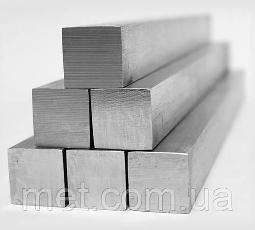 Квадрат калиброванный 50 мм сталь, ст. 45 ГОСТ 1051-73; h11, фото 1