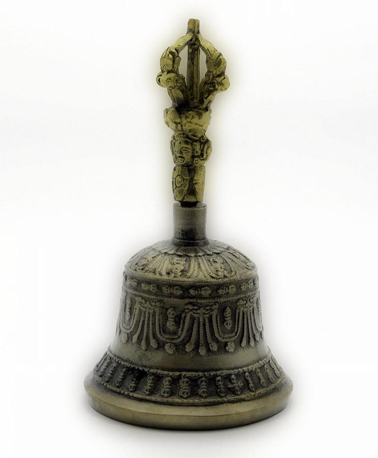 Колокол Чакровый Бронзовый (№2)(D-8,H-14.5 СМ)(НЕПАЛ)