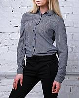 """Женская шифоновая рубашка """"Звезда"""", до 48 размера"""