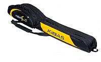 Чехол для удилищ 2х секционный Case 130 St Kibas черный/желтый