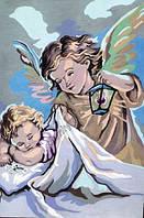Ангел. Канва с рисунком