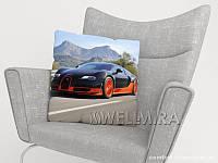 ФотоПодушка Bugatti Veyron, арт. 10 001177