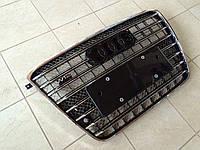 Решетка радиатора W12 на Audi A8, фото 1