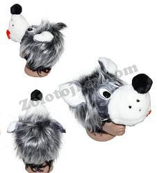 Карнавальная маска Волк