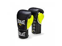 Профессиональные перчатки EVERLAST Powerlock Pro Fight Boxing Gloves