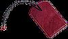 Бирка для багажа/на чемодан *Air* Premium (винный), фото 5