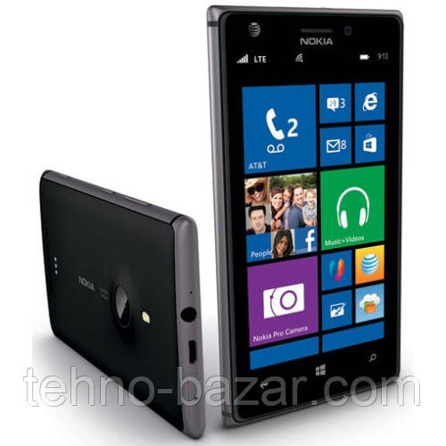 Nokia Lumia 925 Black + подарки