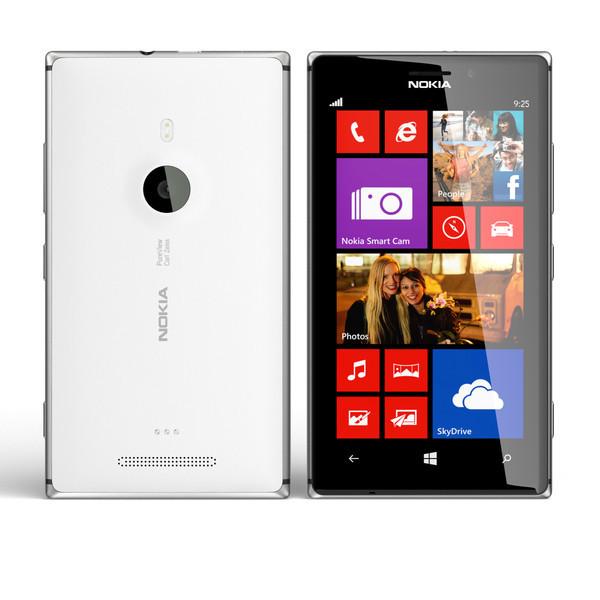 Nokia Lumia 925 White + подарки