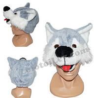 Карнавальная маска Собака, Волк