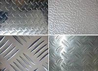 Лист алюминиевый  рифленый ( квинтет ) 1,5*1000*2000 мм.