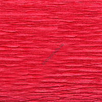 Крепированная  (креп) бумага, Cartotecnica Rossi, 180 г, Италия, № 586, красная