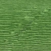 Крепированная  (гофрированная) бумага, Cartotecnica Rossi, 180 г, Италия, № 591, зеленая