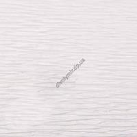 Крепированная  (креп) бумага, Cartotecnica Rossi, 180 г, Италия, № 600, белая