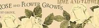 Паперовий скотч з принтом Версаль Персикові троянди 15мм*8м SCB490025