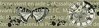 Паперовий скотч з принтом Час метеликів 15мм*8м SCB490027