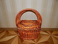 Набор из плетеных корзин полу-рибак