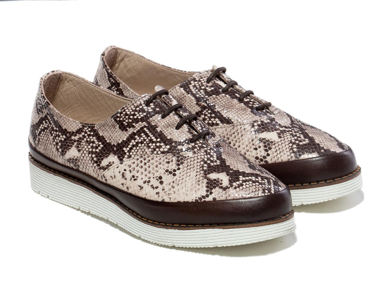 Туфли Etor 5217-8044 39 коричневые
