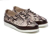 Туфли Etor 5217-8044 39 коричневые, фото 1