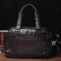 Мужская кожаная сумка спортивного стиля. Модель 04182, фото 3