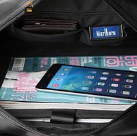 Мужская кожаная сумка спортивного стиля. Модель 04182, фото 8
