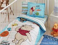 """Постельное белье в кроватку ТМ """"TAC"""" Disney Winnie New Friends baby 100х150 см"""