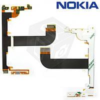Шлейф для Nokia E7-00, межплатный, с компонентами (оригинальный)