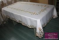 Скатерть атласная с вышивкой, арт. ALT-1162