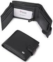 Мужское портмоне из натуральной кожи. Стильный кошелек. Практичный бумажник. Отличный подарок. Код: КТМ232.