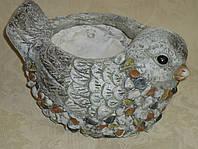 Декоративное кашпо керамическое большое