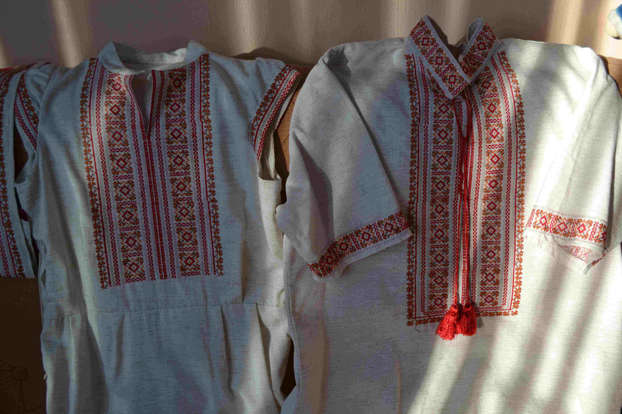 "Комплект вишиванок ""Савана"" (Комплект вышиванок ""Саванна"") VM-0001"