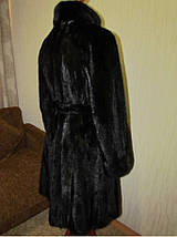 Норковая шуба Black Brillian, фото 3